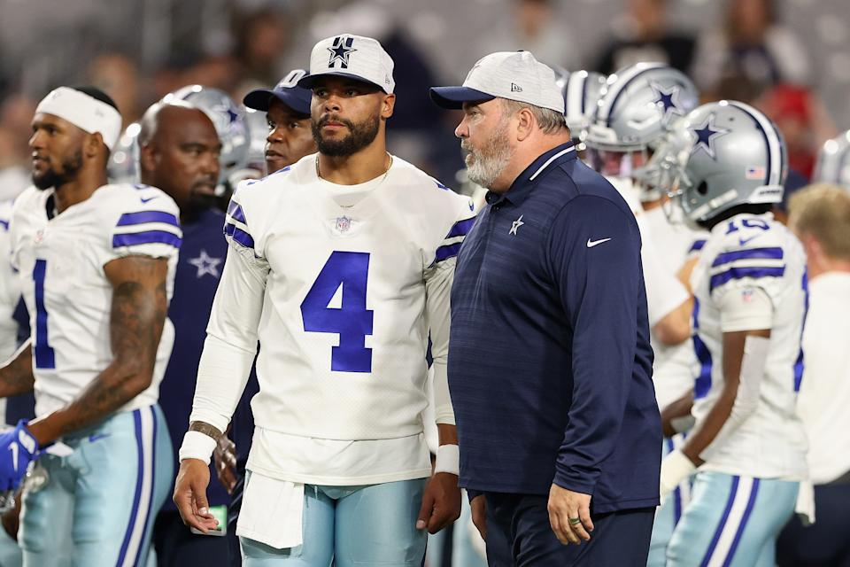 Will Dak Prescott's injuries over the past year cause him to struggle in 2021? (Photo by Christian Petersen/Getty Images)