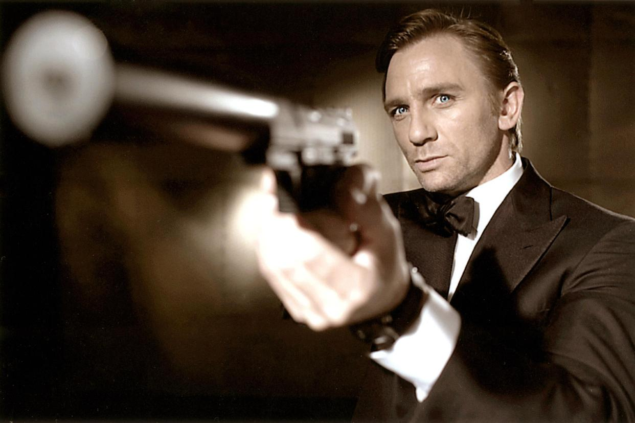 Daniel Craig makes his James Bond debut in 2006's <em>Casino Royale</em>. (Sony Pictures/Everett Collection)
