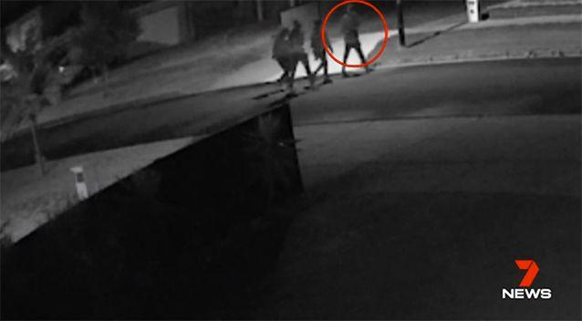 A gang has been stalking the streets, breaking into several homes. Source: 7 News