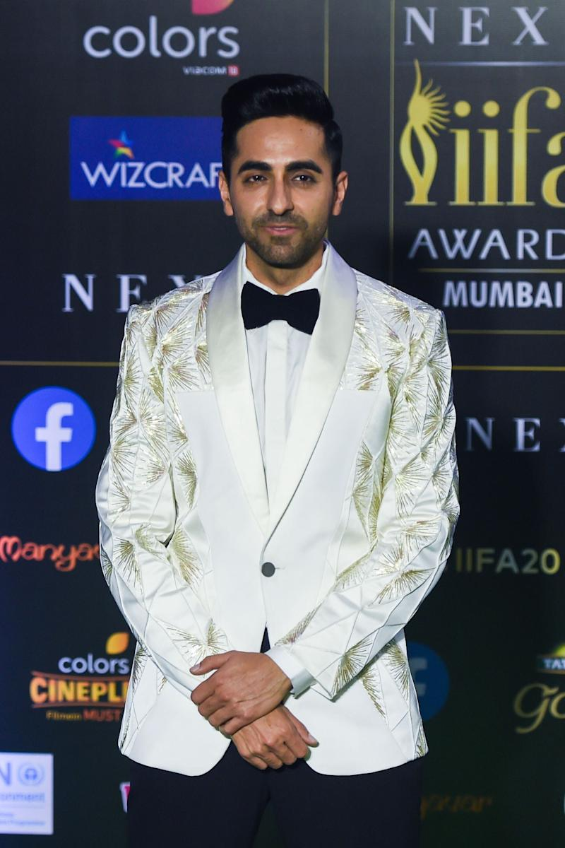 Ayushmann Khurrana arrives for IIFA Awards. (Photo: PUNIT PARANJPE via Getty Images)