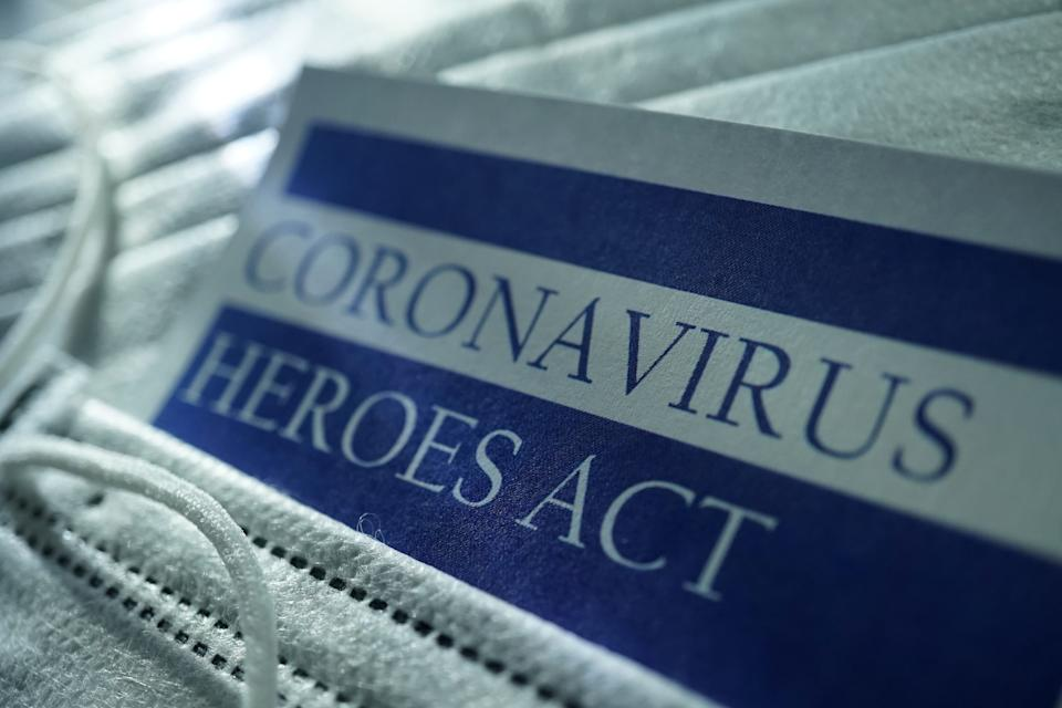The House recently passed another coronavirus relief package, dubbed the HEROES Act, that would provide up to $1,200 per individual with a maximum amount of $6,000 per household. (Photo: Getty Creative)