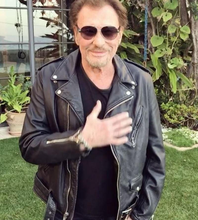 Johnny Hallyday remercie ses fans