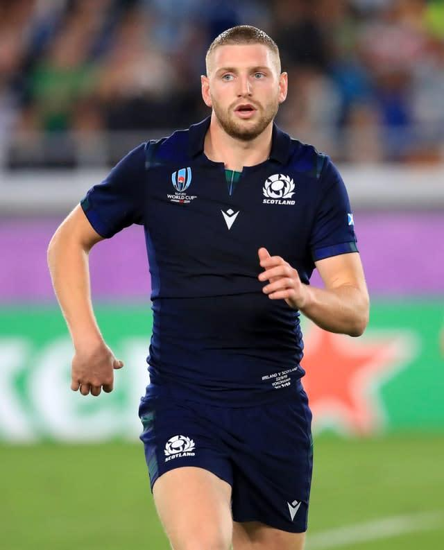 Finn Russell played no part in Scotland's Six Nations campaign (Adam Davy/PA Wire)