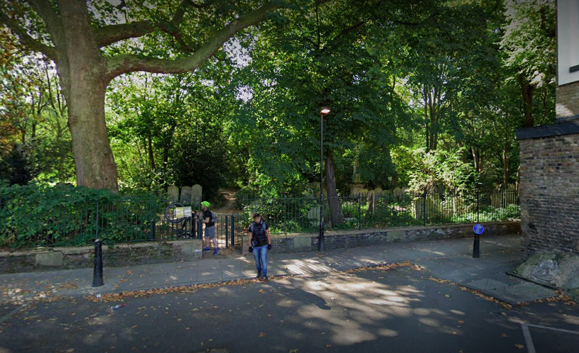 A man was found dead at Tower Hamlets Cemetery Park in east London. (Google)