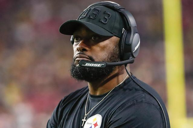A bizarre late gamble didn't cost the Steelers, who are on pace for the AFC's final playoff spot. (Kevin Abele/Icon Sportswire via Getty Images)