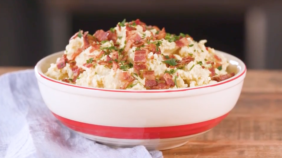"""<p><strong>Recipe:</strong> <a href=""""https://www.southernliving.com/recipes/southern-style-potato-salad-recipe"""" rel=""""nofollow noopener"""" target=""""_blank"""" data-ylk=""""slk:Southern-Style Potato Salad"""" class=""""link rapid-noclick-resp"""">Southern-Style Potato Salad</a></p> <p>Go big, or go home, right? This classic potato salad is the quintessential side dish for your next cookout hot dog.</p>"""