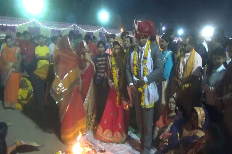 Union Minister Gets Grandson Married at Mass Wedding Function, Baraat Comes on Tractor Trolley