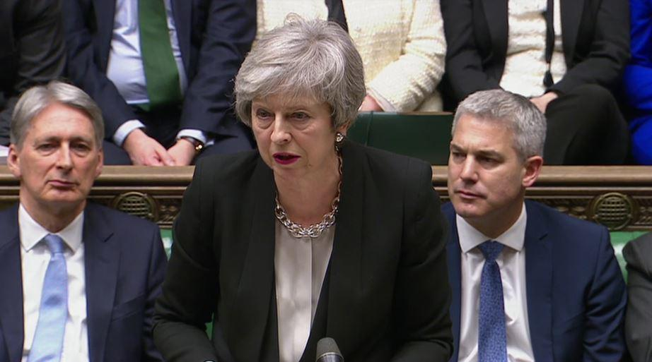 <em>Theresa May admitted that negotiations would not be easy (Picture: PA)</em>