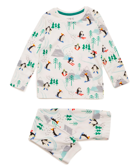 "<p>Treat your little ones to these fun festive pyjamas. Perfect for a gift or to pop inside a <a href=""https://www.countryliving.com/uk/homes-interiors/interiors/a22724913/christmas-eve-boxes-idea-gifts/"" rel=""nofollow noopener"" target=""_blank"" data-ylk=""slk:Christmas Eve Box"" class=""link rapid-noclick-resp"">Christmas Eve Box</a>. </p><p><strong>DEAL</strong>: 2 for £15</p><p><a class=""link rapid-noclick-resp"" href=""https://go.redirectingat.com?id=127X1599956&url=https%3A%2F%2Fwww.marksandspencer.com%2Fpure-cotton-penguin-print-pyjama-set-1-7-yrs-%2Fp%2Fclp60473692&sref=https%3A%2F%2Fwww.countryliving.com%2Fuk%2Fhomes-interiors%2Finteriors%2Fg34768938%2Fmarks-and-spencer-black-friday%2F"" rel=""nofollow noopener"" target=""_blank"" data-ylk=""slk:BUY NOW, M&S"">BUY NOW, M&S</a></p><p><strong>Like this article? <a href=""https://hearst.emsecure.net/optiext/cr.aspx?ID=zsATrj4qAwL7PXfHOfbti0xjie5wOfecvOt8e1A3WvL5x0TsMrTgu8waUpN%2BcCNsV3wq_zCaFTleze"" rel=""nofollow noopener"" target=""_blank"" data-ylk=""slk:Sign up to our newsletter"" class=""link rapid-noclick-resp"">Sign up to our newsletter</a> to get more articles like this delivered straight to your inbox.</strong></p><p><a class=""link rapid-noclick-resp"" href=""https://hearst.emsecure.net/optiext/cr.aspx?ID=zsATrj4qAwL7PXfHOfbti0xjie5wOfecvOt8e1A3WvL5x0TsMrTgu8waUpN%2BcCNsV3wq_zCaFTleze"" rel=""nofollow noopener"" target=""_blank"" data-ylk=""slk:SIGN UP"">SIGN UP</a></p>"