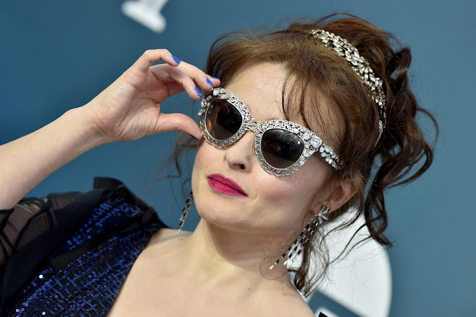 Helena Bonham Carter attends the 26th Annual Screen Actors Guild Awards at The Shrine Auditorium on January 19, 2020 in Los Angeles, California. (Photo by Axelle/Bauer-Griffin/FilmMagic)