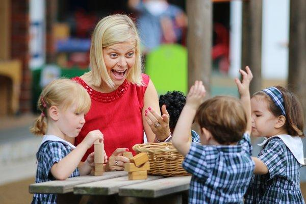 Tanglin Trust School is the first Nursery in Asia to achieve Curiosity