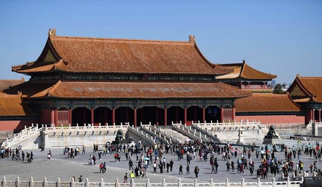 The Palace Museum inside Beijing's Forbidden City is one of the capital's major tourist attractions. Photo: Xinhua