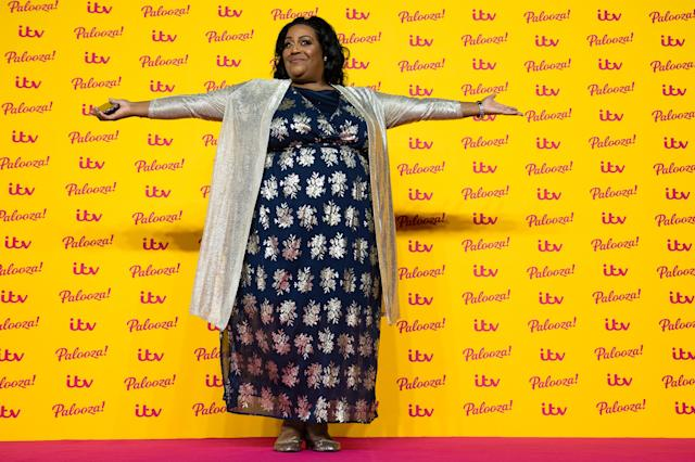 Alison Hammond attends the ITV Palooza! held at The Royal Festival Hall on October 16, 2018 in London, England. (Photo by Jeff Spicer/WireImage)