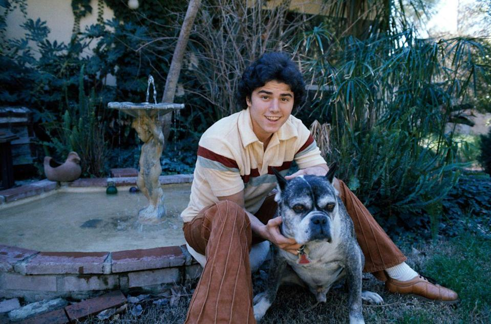 <p>Christopher Knight, who played Peter Brady on <em>The Brady Bunch</em>, at home in the San Fernado Valley, California in 1977.</p>