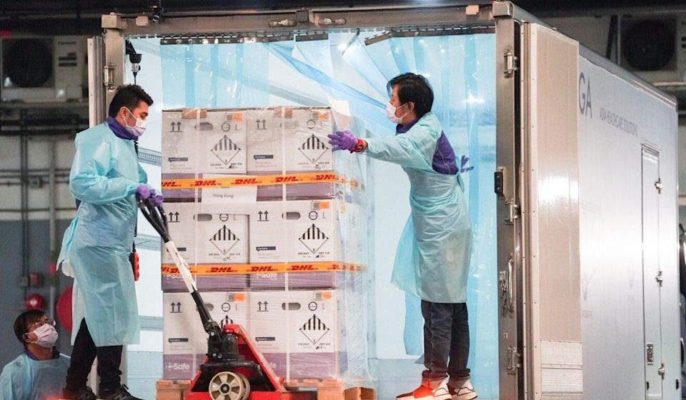 No new batches of the BioNTech Covid-19 vaccine are expected to arrive in Hong Kong after September. Photo: Felix Wong