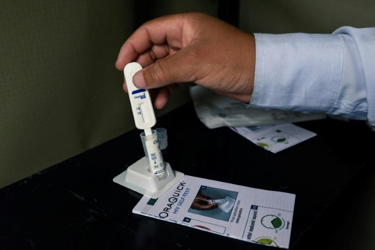 HIV self-testing kits are available at the one-stop clinics