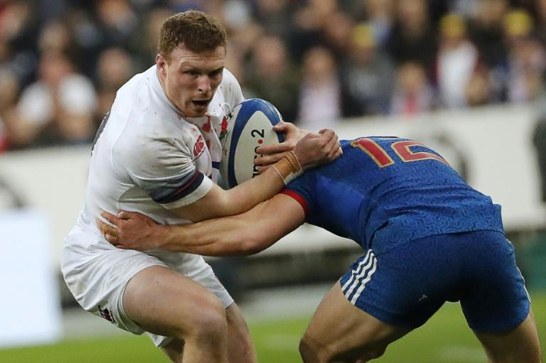 Pace - The speed of England back row Sam Simmonds (L) has impressed Lions coach Warren Gatland