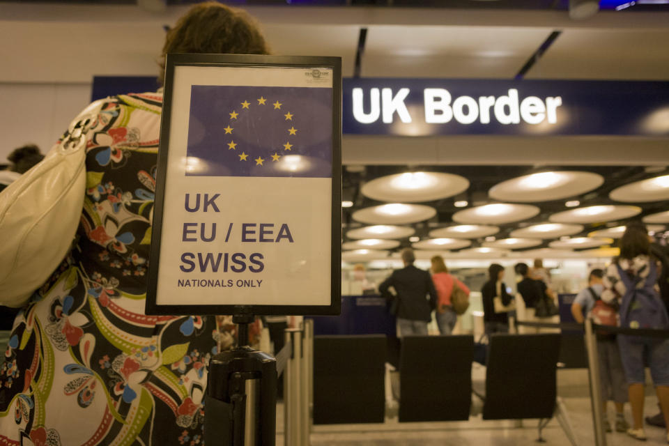 """""""Airlines have already started analysing options that would allow them to operate, even with a hard Brexit."""" (Richard Baker / Contributor)"""