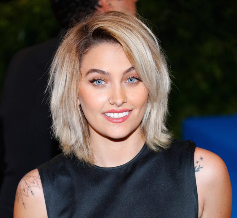 "Paris Jackson stunned in a midriff-baring bralette on her ""Vogue Australia"" cover"