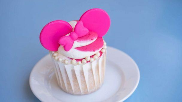 PHOTO: In this undated photo, a cupcake from the Imagination Pink offerings at Disney Parks is shown. (Disney Parks)
