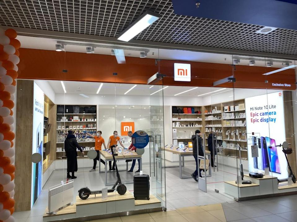 Xiaomi Corp opened its first Mi Store in the Arctic Circle in October last year. The store is located in the Russian city of Murmansk located within the Arctic Circle, making it Xiaomi's northernmost retail outpost. Photo: Handout