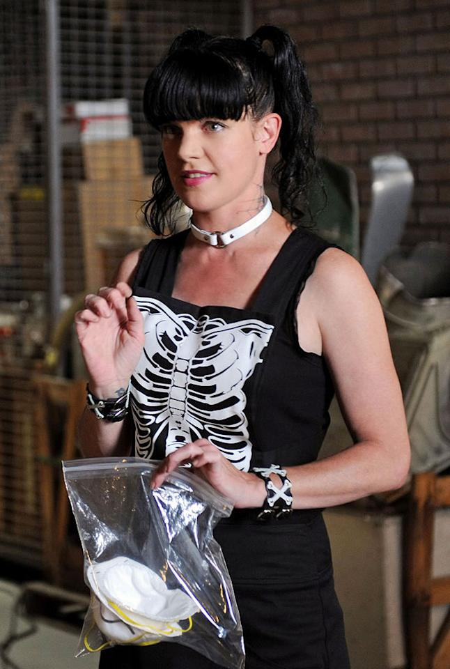 """<p class=""""MsoNormal""""><strong>Pauley Perrette</strong><span class=""""MsoCommentReference""""><span style=""""font-size:8.0pt;""""><span> </span></span></span><strong>(""""NCIS""""), 42</strong></p>   It's not just the pigtails that make """"NCIS's"""" Pauley Perrette (Abby Sciuto) look forever young, but they certainly don't hurt. The popular star has enough energy and enthusiasm to make anyone jealous, but even more so when you consider that she'll be 43 on March 27. If sleeping in a coffin like Abby does can do that for you, it may be worth trying out."""