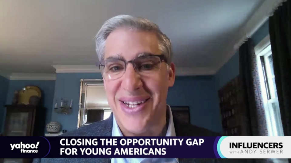 Year Up CEO Gerald Chertavian speaks with Yahoo Finance Editor-in-Chief Andy Serwer on an episode of