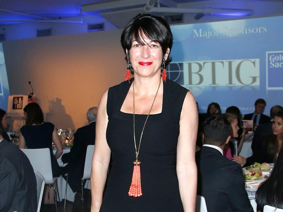 NEW YORK, NY - JUNE 11: Ghislaine Maxwell attends NATIONAL URBAN TECH CENTER 2014 Gala at Three Sixty on June 11, 2014 in New York City.