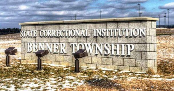 PHOTO: In this undated file photo, the sign for the State Correctional Institution Benner Township is shown in Bellefonte, PA. (Pennsylvania Department of Corrections)
