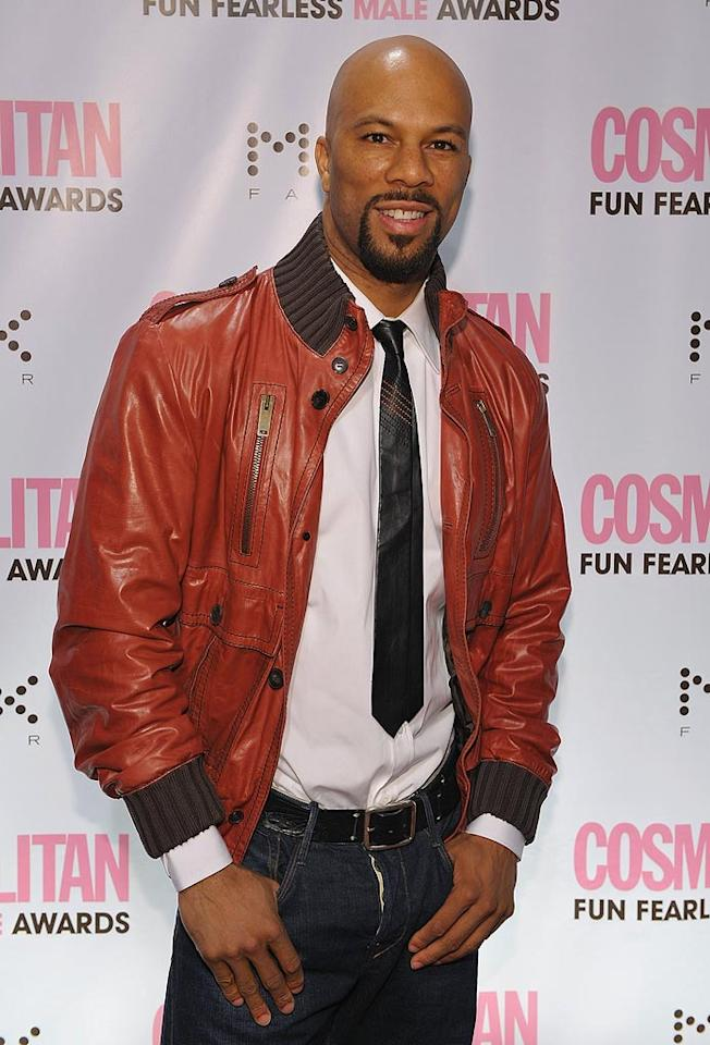 "Common is anything but! He's a successful rapper, actor, model, and vegan/animal rights activist. Dimitrios Kambouris/<a href=""http://www.wireimage.com"" target=""new"">WireImage.com</a> - March 3, 2008"
