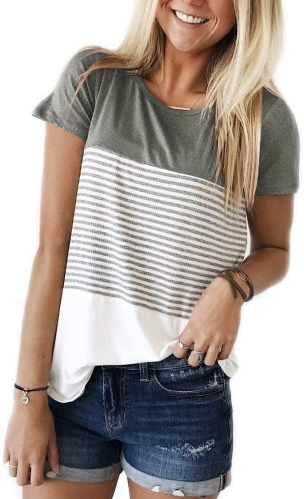 <p>There are more than 21,000 ratings for this <span>YunJey Round Neck Triple Color Block Stripe T-Shirt</span> ($17).</p>