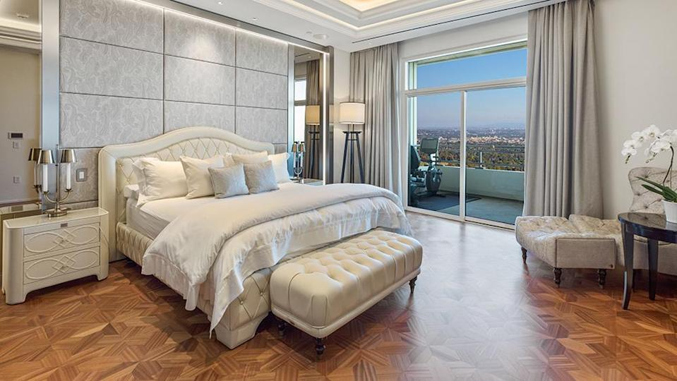 The master bedroom. - Credit: Photo: Anthony Barcelo/Compass