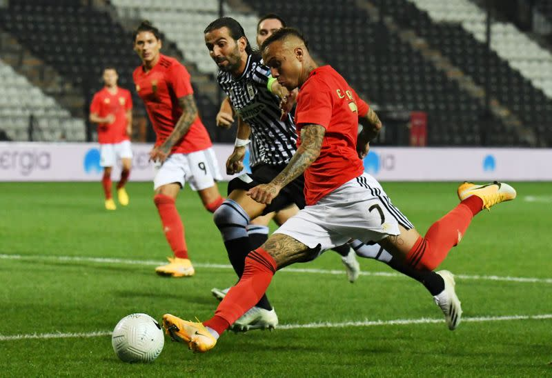 PAOK dump Benfica out of Champions League qualifying