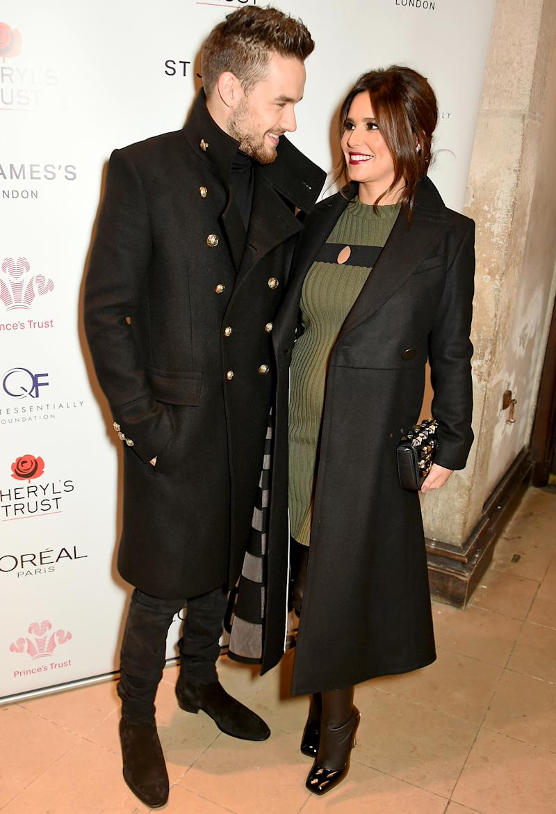 Pregnant Cheryl Cole Debuts Baby Bump, Steps Out With Boyfriend Liam Payne — See the Pics