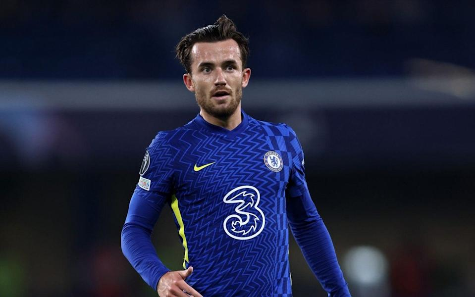 Ben Chilwell of Chelsea during the UEFA Champions League group H match between Chelsea FC and Zenit St. Petersburg at Stamford Bridge - GETTY IMAGES