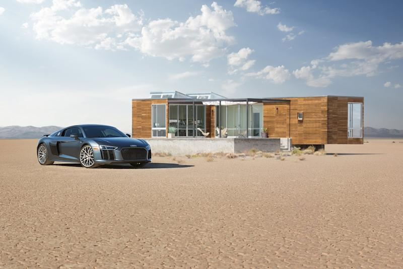Epic Death Valley Airbnb comes with an Audi R8 and chef-prepared meals