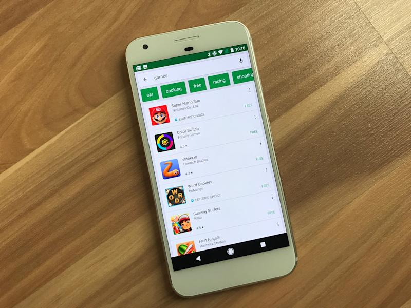 google play store search