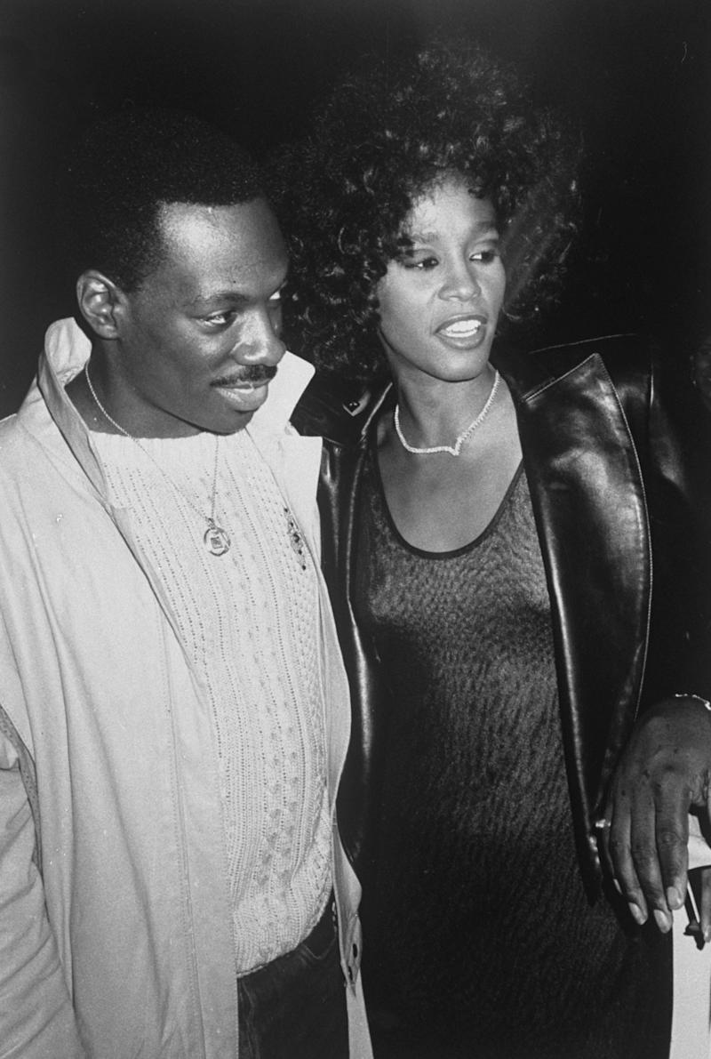 Eddie Murphy and Whitney Houston after a concert. (Photo: Richard Corkery/NY Daily News Archive via Getty Images)