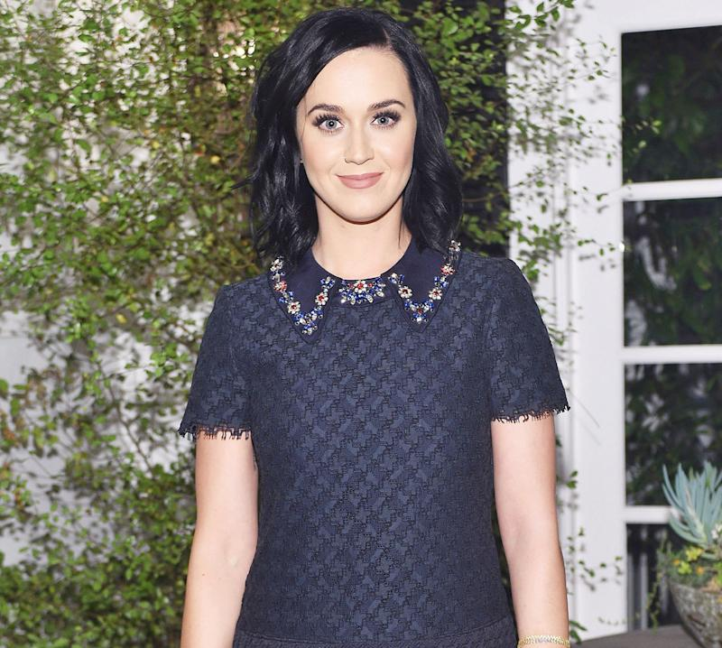 Katy Perry Hosts Private \'Home Alone\' Screening for Christmas Party