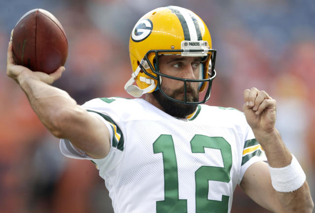 Aaron Rodgers envies NBA players for their ability to speak their minds without fear of losing their jobs, and believes Colin Kaepernick should be on an NFL roster. (AP)