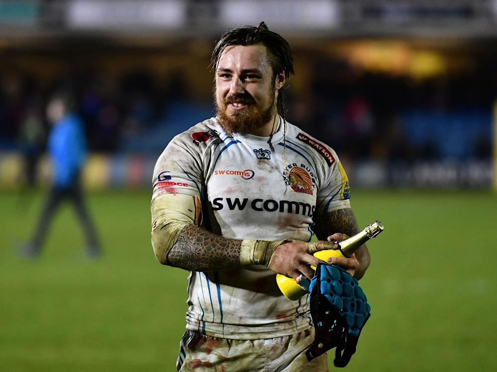 Nowell is one of just two changes for Exeter (Getty)