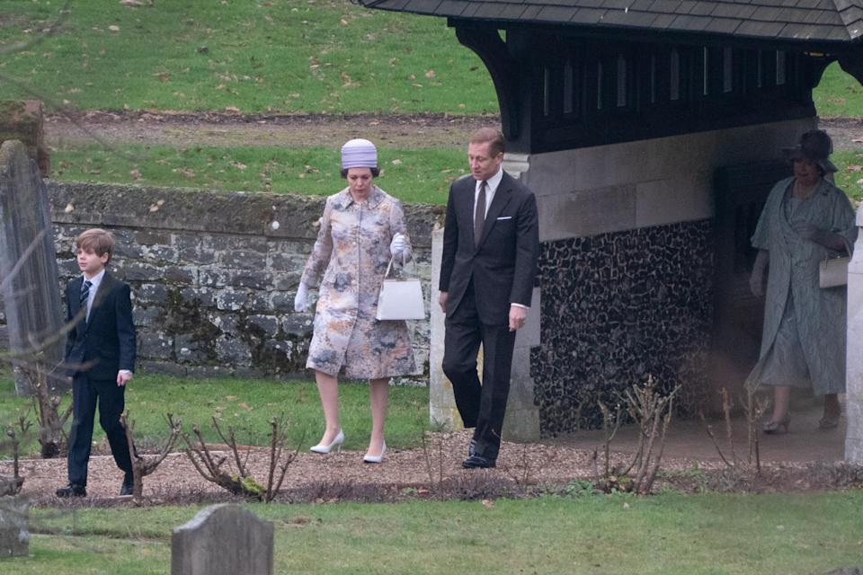 <p>The Queen gave birth to her last child, Prince Edward, in 1964, so it's thought the series will begin wih that. Photo: Media Mode </p>