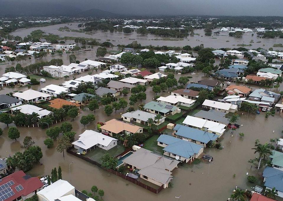 Townsville and other parts of northeastern Australia have had a year's worth of rainfall in a week causing devastating flooding