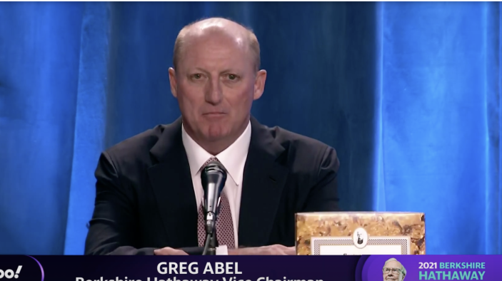 Gregory Abel at the Berkshire Hathaway Annual Meeting.