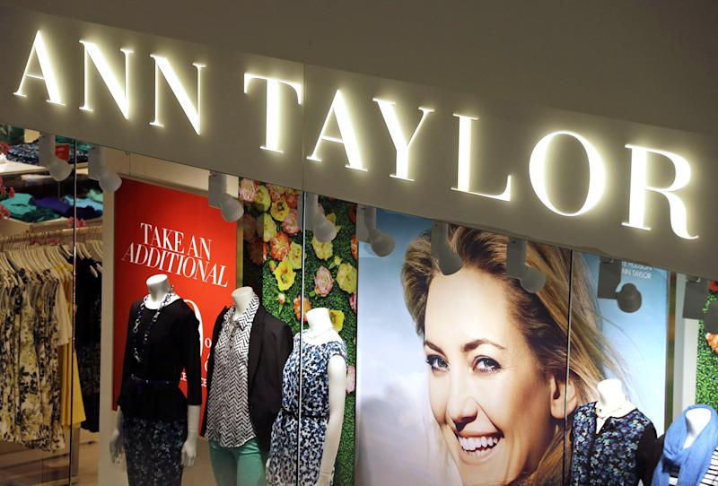 Ann Taylor parent company files for bankruptcy
