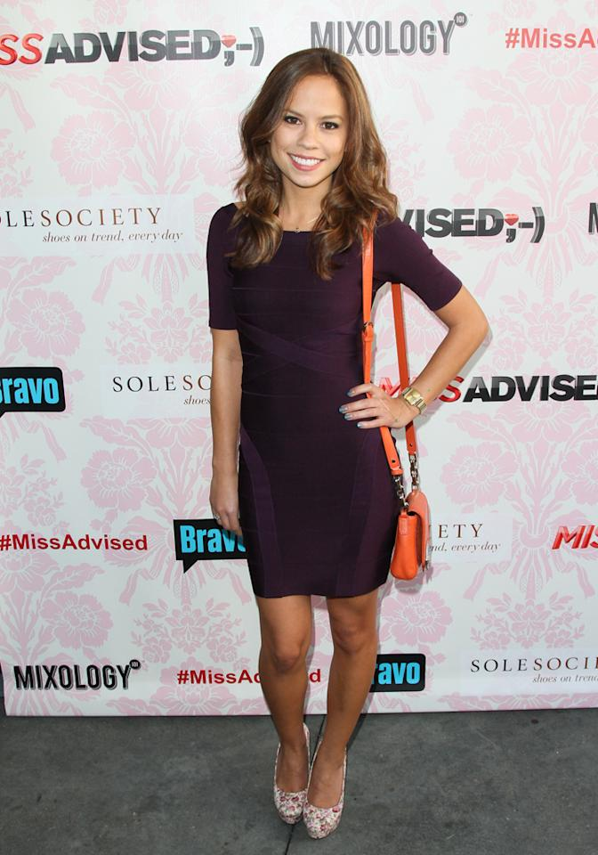 "Kim Hidalgo attends the viewing party for Bravo's new series ""Miss Advised"" at the Planet Dailies & Mixology 101 on June 18, 2012 in Los Angeles, California."