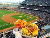 """<p><a href=""""http://sanfrancisco.giants.mlb.com/sf/ballpark/"""" rel=""""nofollow noopener"""" target=""""_blank"""" data-ylk=""""slk:AT&T Park"""" class=""""link rapid-noclick-resp"""">AT&T Park</a>, San Francisco</p><p>""""The premiere baseball park in California. Great food, great team, great atmosphere. Don't forget to get a cha-cha bowl, an ice cream sundae and of course, garlic fries. Tip: Get tickets on stubhub."""" - Foursquare user <a href=""""https://foursquare.com/churchchills"""" rel=""""nofollow noopener"""" target=""""_blank"""" data-ylk=""""slk:Roy Scopazzi"""" class=""""link rapid-noclick-resp"""">Roy Scopazzi</a></p>"""