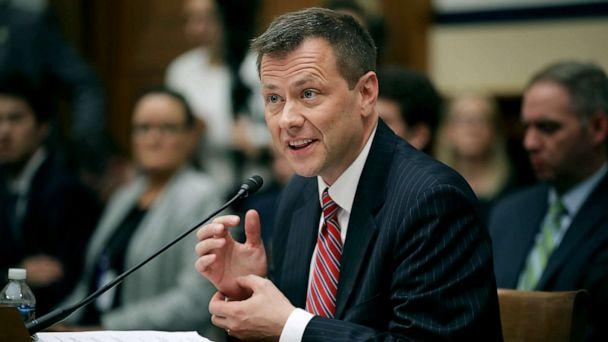 PHOTO: Deputy Assistant FBI Director Peter Strzok testifies before a joint committee hearing of the House Judiciary and Oversight and Government Reform committees in the Rayburn House Office Building on Capitol Hill, July 12, 2018, in Washington, DC. (Chip Somodevilla/Getty Images, FILE)