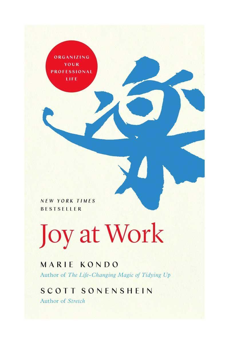 """<p>By Marie Kondo and Scott Sonenshein</p><p>Learn how to organise your professional life from decluttering expert Marie Kondo and organisation psychologist Scott Sonenshein. At the end of the book you'll understand how to overcome the challenges of workplace mess and become more productive.</p><p>£17.68</p><p><a class=""""link rapid-noclick-resp"""" href=""""https://www.amazon.co.uk/Joy-Work-Organizing-Your-Professional/dp/0316423327?tag=hearstuk-yahoo-21&ascsubtag=%5Bartid%7C1921.g.30324280%5Bsrc%7Cyahoo-uk"""" rel=""""nofollow noopener"""" target=""""_blank"""" data-ylk=""""slk:SHOP NOW"""">SHOP NOW</a> </p>"""