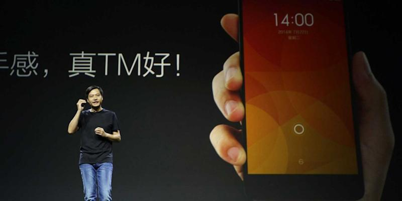 XIAOMI MI4 smartphone launch lei jun CEO
